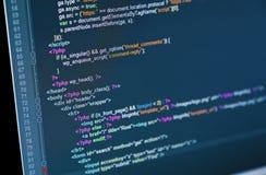Código Fotografia de Stock