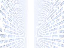 código 3d ilustración del vector