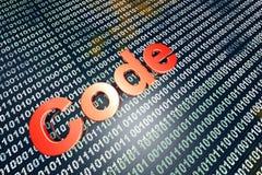 código Foto de archivo