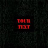 Código imagen de archivo libre de regalías