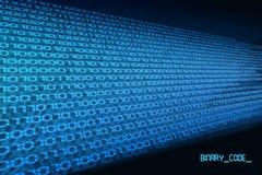 Código binário 2 Fotografia de Stock