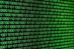 Código binário Fotos de Stock
