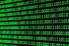 Código binário Imagens de Stock