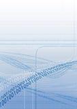 Código binário 7 Foto de Stock