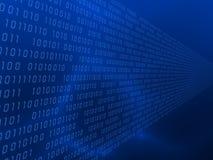 código binario 3d Imagen de archivo libre de regalías