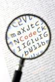Código binario fotos de archivo libres de regalías