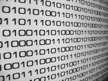 Código binario Imágenes de archivo libres de regalías