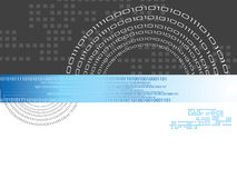 Código binario Foto de archivo libre de regalías