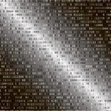 Código binario Concepto de la seguridad del Internet Fotografía de archivo libre de regalías