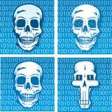 Código da morte Fotos de Stock