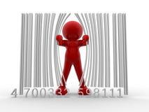 Código de barra ilustração stock
