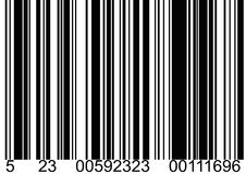 Código de barra Ilustração Royalty Free