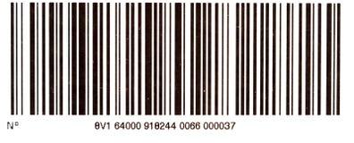Código de barra Imagem de Stock Royalty Free