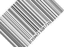 Código de barras Imagen de archivo libre de regalías