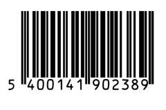 Código de barras Fotografia de Stock