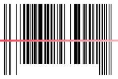 Código de barras. Foto de archivo libre de regalías