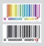 Código de barras 2013 Ilustración del Vector