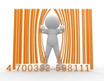 Código de barras Imagem de Stock Royalty Free