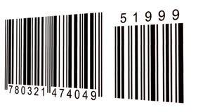Código de barras fotos de archivo libres de regalías