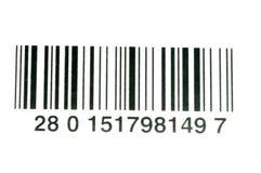 Código de barras fotografía de archivo