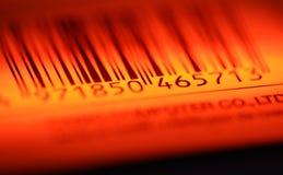 Código de barras Imagenes de archivo
