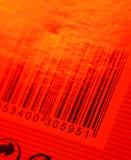 Código de barras Foto de archivo