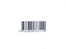 Código de barras Imagens de Stock