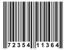 Código de barras Fotos de archivo