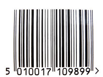 Código de barras Fotografia de Stock Royalty Free