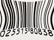 Código de barras Imagem de Stock