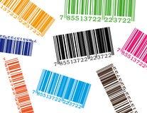 Código de barras da cor ilustração stock