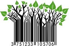 Código de barras da mola Fotografia de Stock Royalty Free