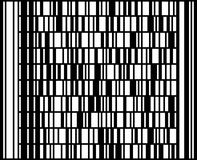 Código de barras de Codablock F. Foto de Stock Royalty Free