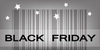 Código de barras de segunda-feira do Cyber para produtos do preço especial Fotos de Stock Royalty Free