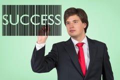 Código de barras del éxito Imagenes de archivo