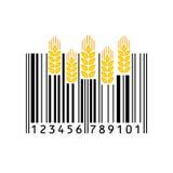 Código de barras Ilustração do vetor Imagens de Stock
