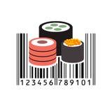 Código de barras Ilustração do vetor Imagem de Stock