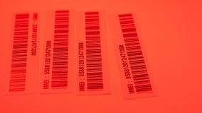 Código de barras Label almacen de video