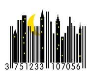 Código de barras urbano Fotografia de Stock Royalty Free