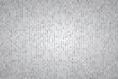 Código de computador binário do elemento azul abstrato do fundo da tecnologia Foto de Stock