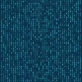 Código de computador hexadecimal verde Fundo abstrato da matriz Ataque do cabouqueiro Conceito gerado do código de computador Imagem de Stock Royalty Free