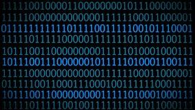 Código de Digitaces en la pantalla de ordenador Fondo de la tecnología ilustración del vector