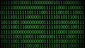 Código de Digitaces en la pantalla de ordenador Fondo de la tecnología stock de ilustración