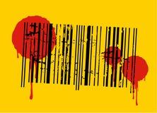 Código de la sangre Imagenes de archivo