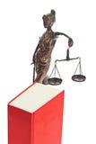 Código de las leyes para la corte. imagen de archivo libre de regalías