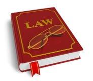 Código de leyes ilustración del vector