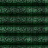 Código de ordenador binario Imágenes de archivo libres de regalías