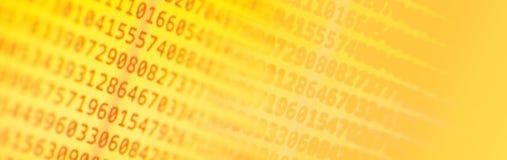 Código de ordenador del programa foto de archivo