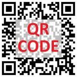 Código de QR Fotos de archivo libres de regalías