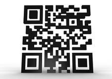 Código de QR Fotos de archivo